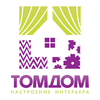 купить Комплект фотоштор ТомДом Росси дешево в Москве за 4920 рублей в магазине tomdom.ru